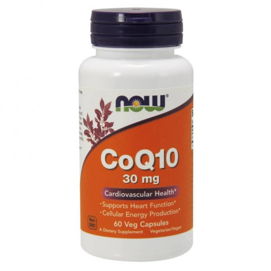 Now foods Coenzyme Q10 30 mg 60 капс.