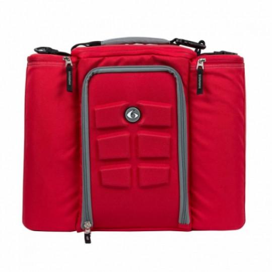 6 pack fitness Innovator 500 Red-Grey Сумка для еды с контейнерами красный-серый