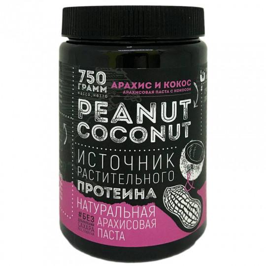 Tobe Well Арахисовая паста Peanut and Coconut 750 г