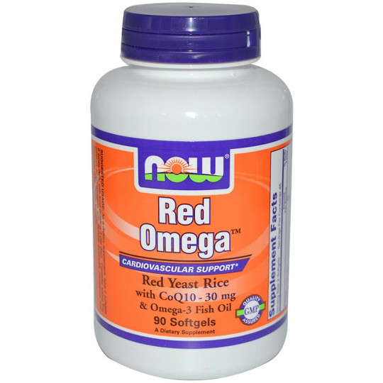 Now Red Omega 90 гелевых капсул