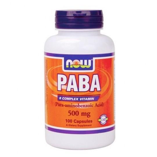 Now foods PABA 500 mg 100 капс.