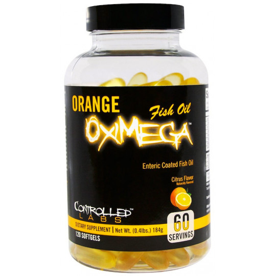Controlled Labs Orange Oximega 120 гелевых капсул