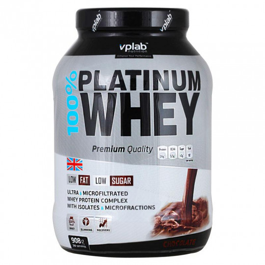 VP Laboratory 100% Platinum Whey 908 г