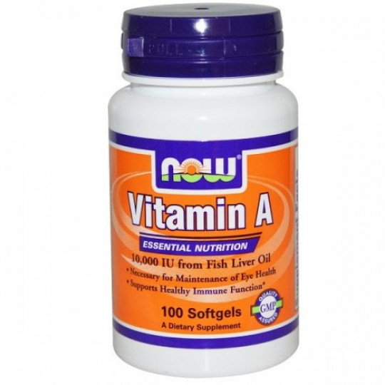 Now foods Vitamin A 10000 100 капс.