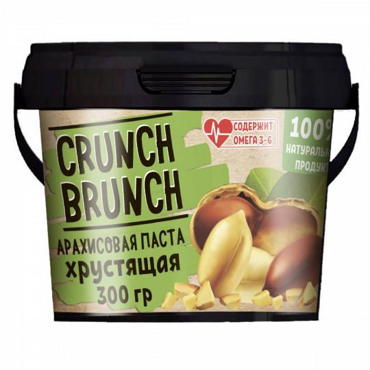CRUNCH-BRUNCH Арахисовая паста Хрустящая 300 г
