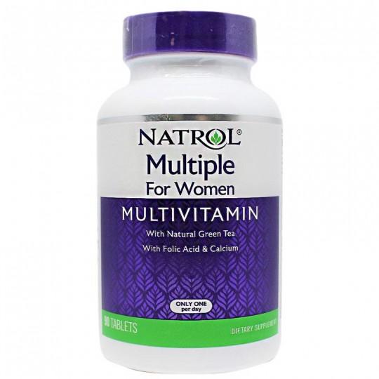 Natrol Multiple for Women Multivitamin 90 табл.