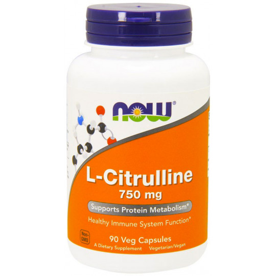 Now L-Citrulline 750 caps