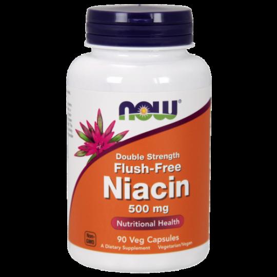 Now foods Niacin Flush-Free 500 mg 90 капс.