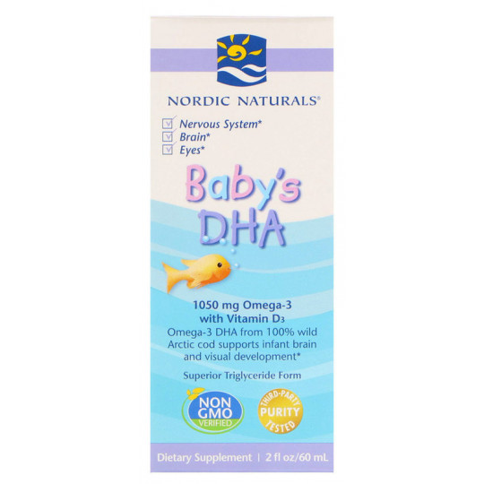 Nordic Naturals Baby's DHA With Vitamin D3 60 мл
