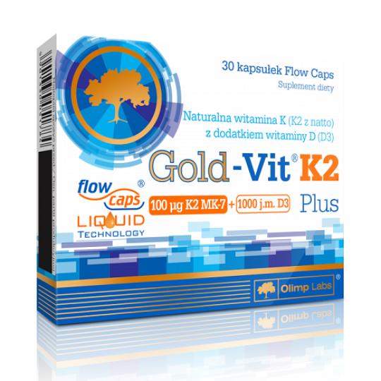 Olimp Gold-Vit K2 Plus 30 капс.