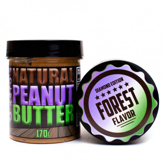Ketos Natural Peanut Butter Forest 170 г