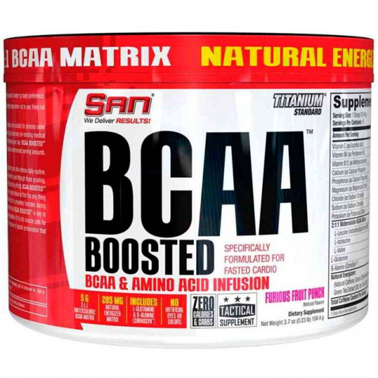 SAN BCAA Boosted 105 г