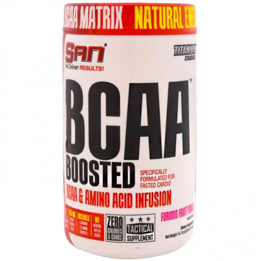 SAN BCAA Boosted 418 г