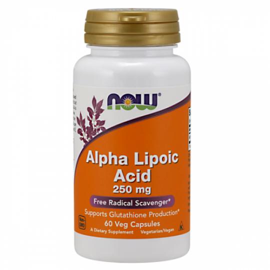 Now foods Alpha Lipoic Acid 250 mg 60 капс.