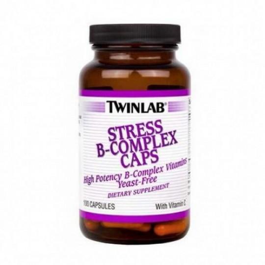 Twinlab Stress B-Complex 100 капс.
