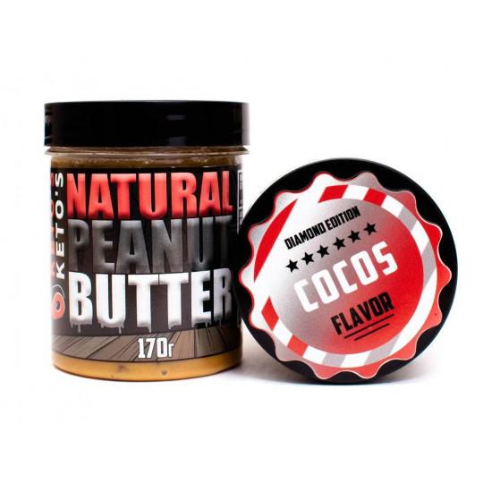 Ketos Natural Peanut Butter Cocos 170 г