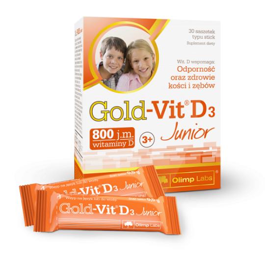 Olimp Gold-Vit D3 Junior 30 пак.