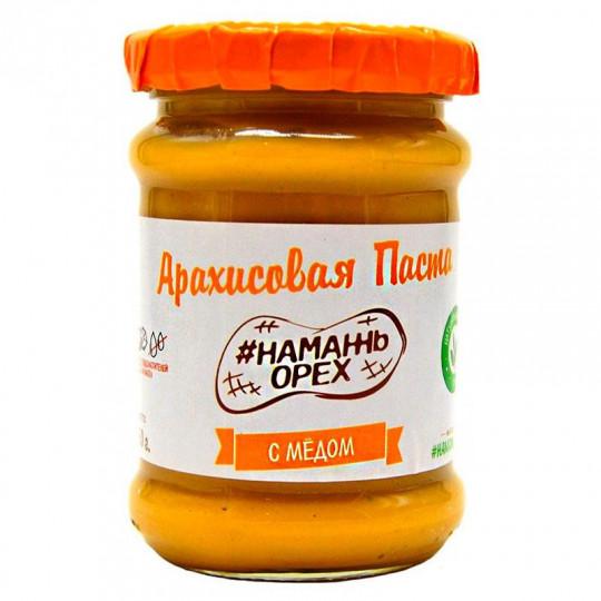 Намажь орех Арахисовая паста С медом 250 г