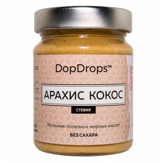DopDrops Паста арахис-кокос 250 г стевия