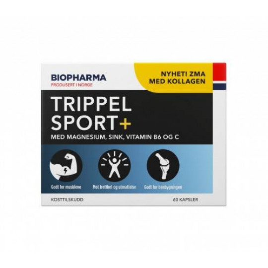 Biopharma ZMA Trippel Sport+ 60 капс.