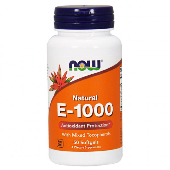 Now foods E-1000 Mixed Toc 50 капс.