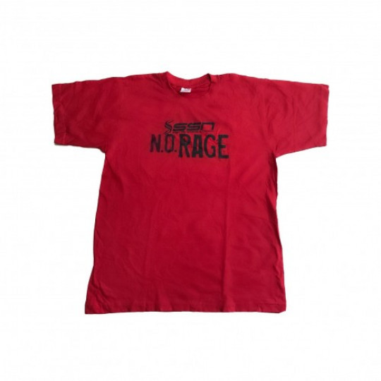 SSN футболка N.O.RAGE красный