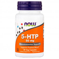 Now foods 5-HTP 50 mg 30 капс.