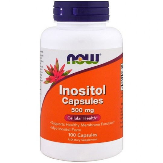 Now foods Inositol 500 mg 100 капс.