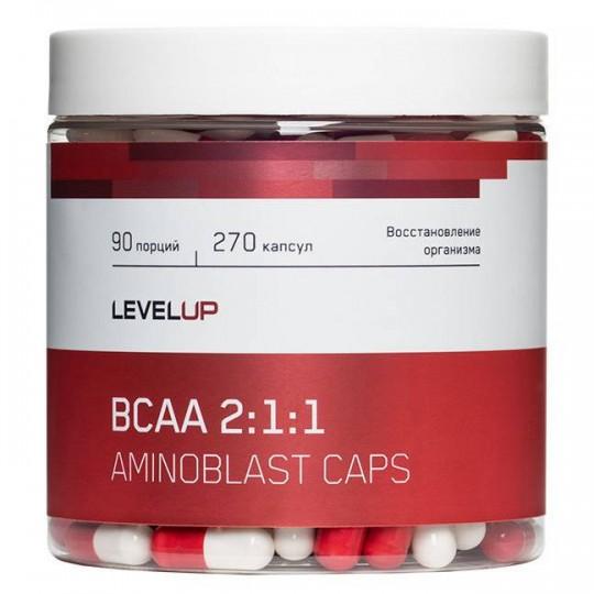Level Up Aminoblast BCAA 270 капс.
