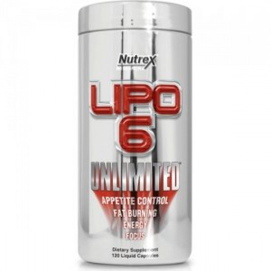 Nutrex Lipo-6 Unlimited 120 капс.