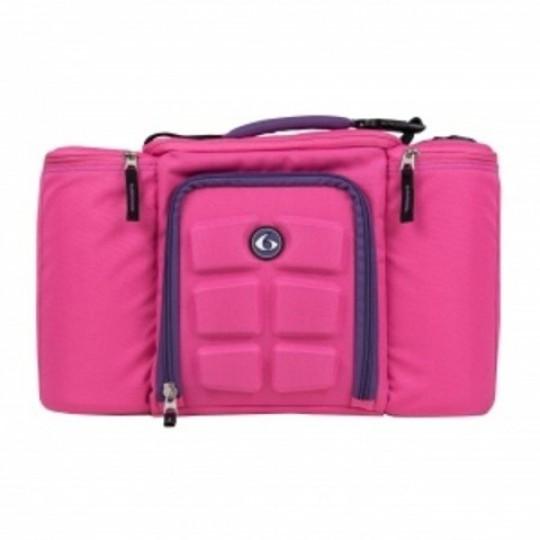 6 pack fitness Innovator 300 Pink-Purple Сумка для еды с контейнерами розовый-фиолетовый