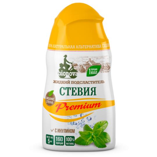 Bionova Жидкий сахарозаменитель Стевия Premium 50 мл.
