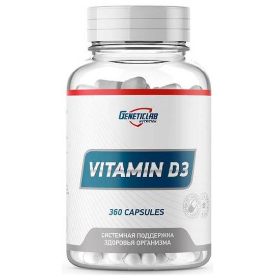 GeneticLab Nutrition Vitamin D 360 капс.