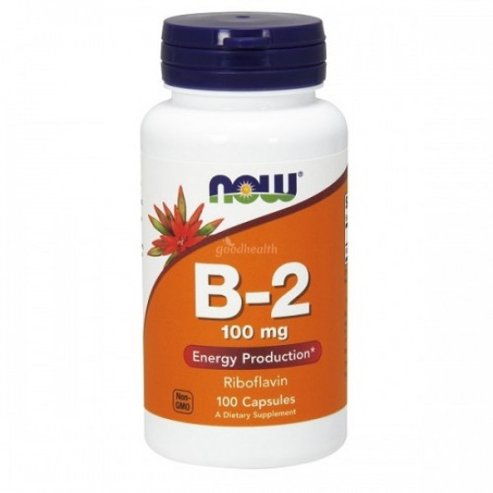 Now foods Vitamin B-2 100 mg 100 капс.