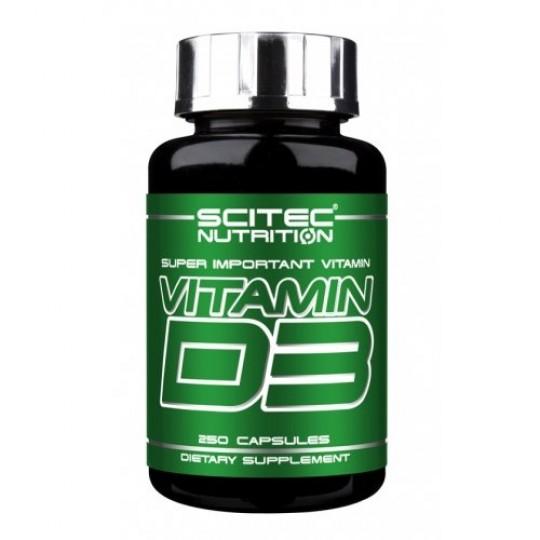 Scitec Nutrition Vitamin D3 250 капс.