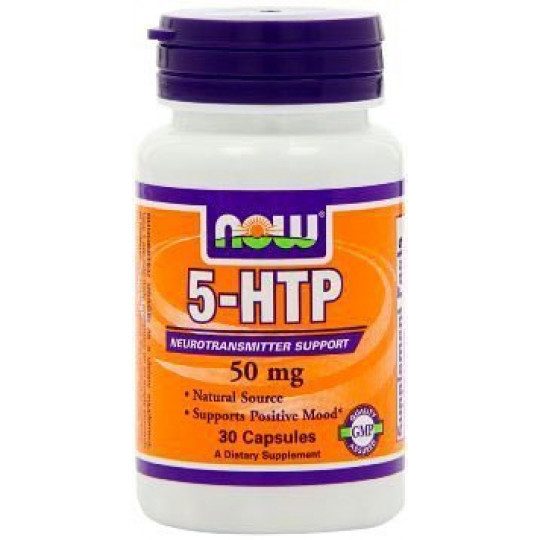 5-HTP Now 50 мг