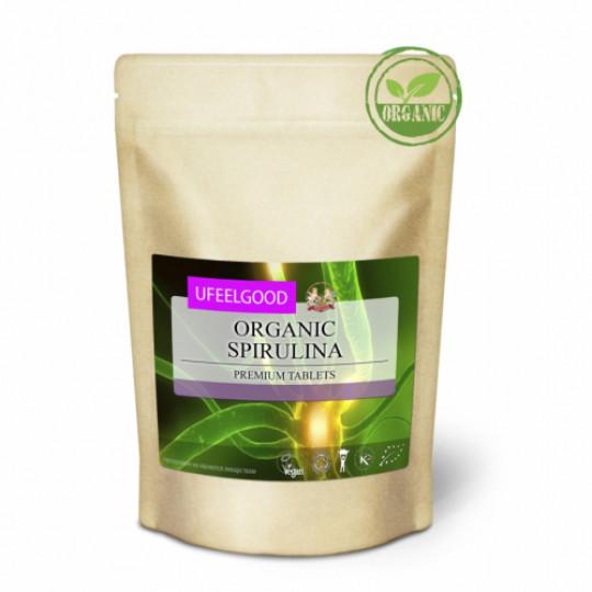 Ufeelgood Organic Спирулина прессованная 100 г
