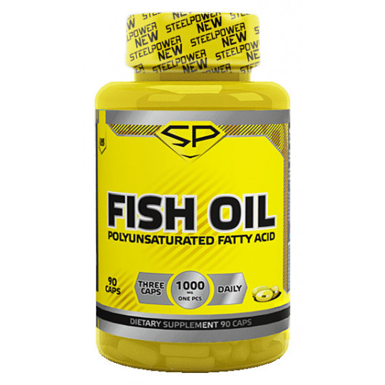 Steel Power Nutrition Fish Oil 90 капсул