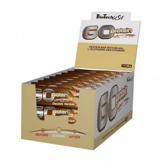 Biotech Nutrition Go Protein Bar 24*40 г