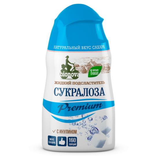 Bionova Жидкий сахарозаменитель Cукралоза Premium 50 мл.