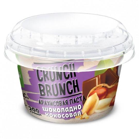 CRUNCH-BRUNCH Арахисовая паста Шоколадно-Кокосовая 200 г