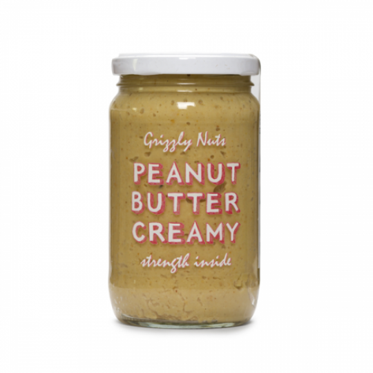 Grizzly Nuts арахисовая паста кремовая Creamy 370 г