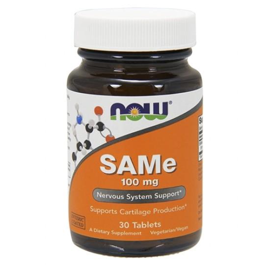Now foods SAM-E 100 mg 30 таб.