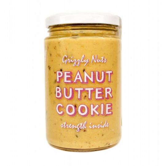 Grizzly Nuts арахисовая паста с финиками Cookie 370 г