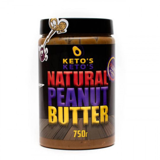 Ketos Natural Peanut Butter Candy 750 г