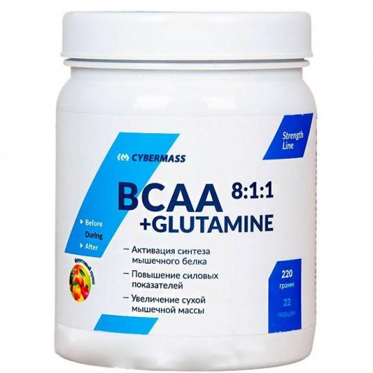 CyberMass BCAA+Glutamine 8:1:1 220 г