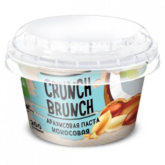 CRUNCH-BRUNCH Арахисовая паста Кокосовая 200 г