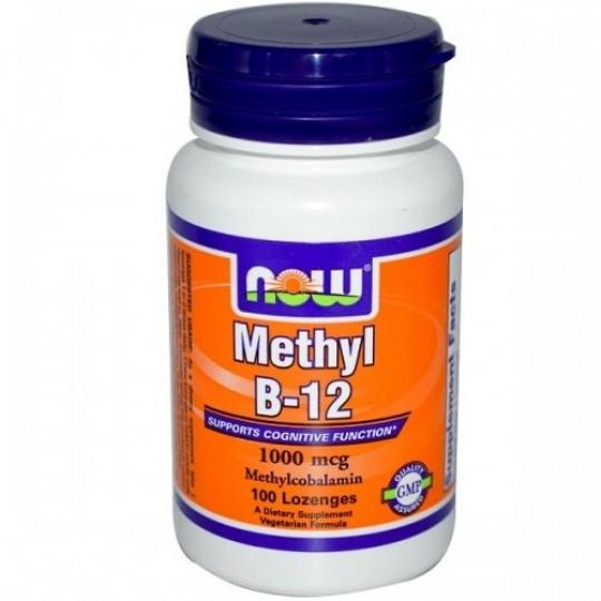 Now foods Methyl B-12 1000 mcg 100 таб.
