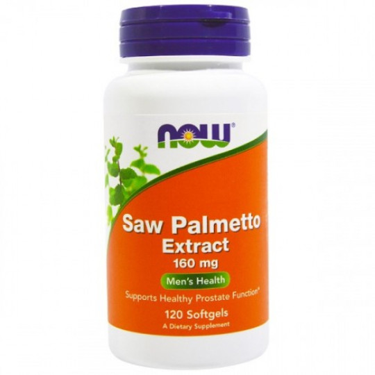 Now foods Saw Palmetto 160 mg 120 капс.
