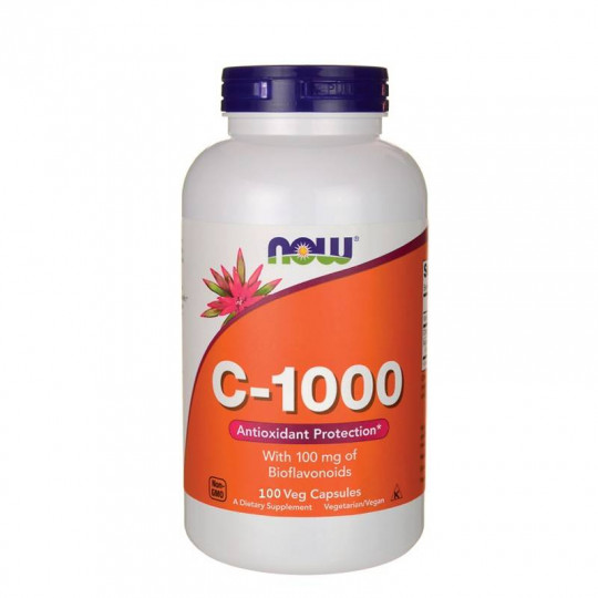 Now foods Vitamin C-1000 with 100 mg of Bioflavonoids 100 капс.